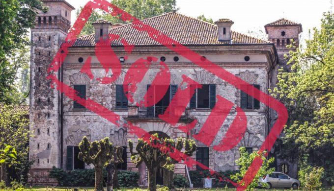 Villa Albergoni sold